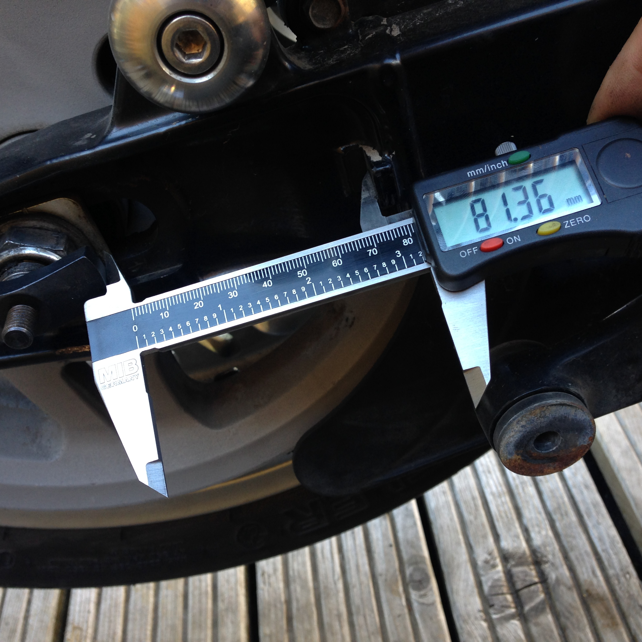 Triumph Thunderbird Belt Adjustment Trumpet Touring