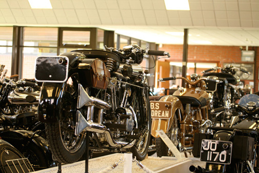 The National Motorcycle Museum visit…
