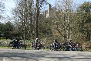 Bikes and Castles