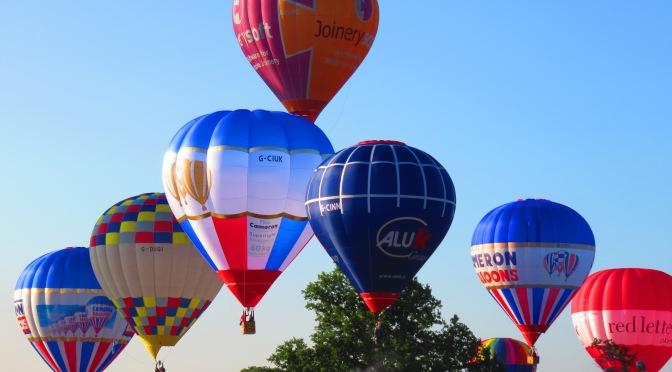 Bristol Balloon Fiesta Morning Mass Launch