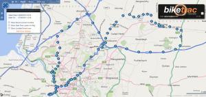 BikeTrac Balloon Fiesta Map